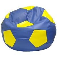 Кресло-мешок Мяч сине-желтый