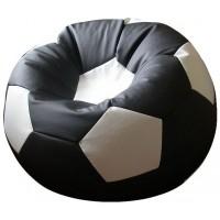 Кресло-мешок Мяч Стандарт черно-белый