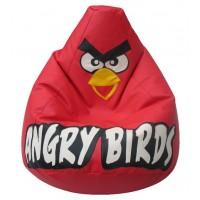 Кресло-мешок Красная Птичка  экокожа