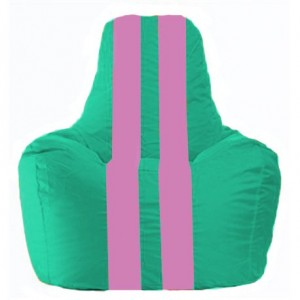 Кресло-мешок Спортинг бирюзовый - розовый С1.1-295