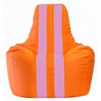 Кресло-мешок Спортинг оранжевый - розовый С1.1-601