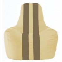Кресло-мешок Спортинг светло-бежевый - бежевый С1.1-136