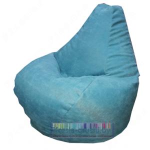 Бескаркасное кресло МИНИ из велюра
